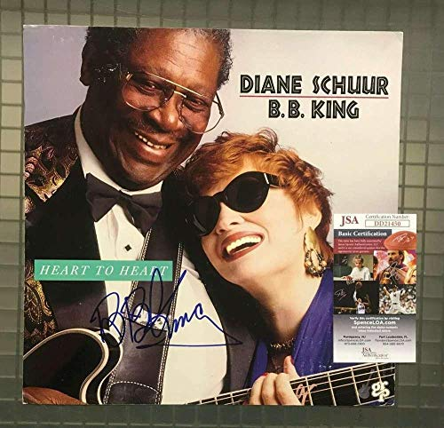 BB KING Coa Hand Signed 12x12 Album Insert Photo Autograph - JSA Certified