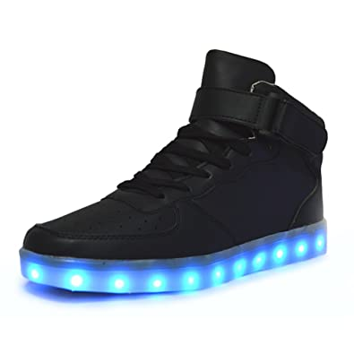Image Unavailable. Image not available for. Color  DoGeek Unisex Boy Girl  Light up Shoes ... f0e22668d