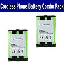 Panasonic HHR-P107 Cordless Phone Battery Combo-Pack includes: 2 x UL107 Batteries