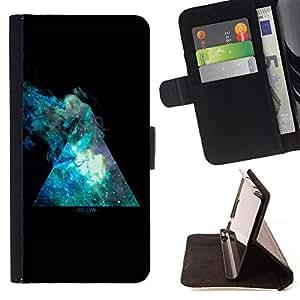 Devil Case- Estilo PU billetera de cuero del soporte del tir¨®n [solapa de cierre] Cubierta FOR Sony Xperia Z2 L50t L50W L50U- space