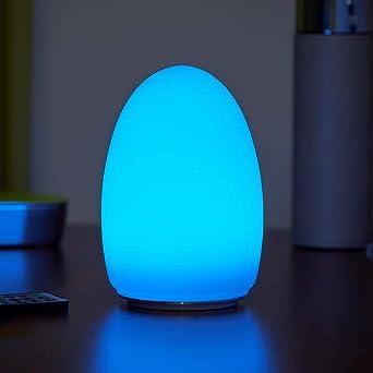 Blancheamp; À Couleursegg Lumière Led Fil Lampe De Changement Table Rechargeable Auraglow Sans f7Y6ybgv