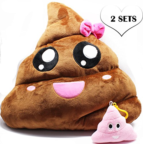 Poop-Emoji-Plush-Throw-Pillows-13-Smiley-Cotton-Stuffed-Cushion-Pair-of-Cute-Emoticon-Creative-Toys-Novelty-Expression-Christmas-Gift-Birthday-Present-School-Prize-Housewarming-Decor-Supplies