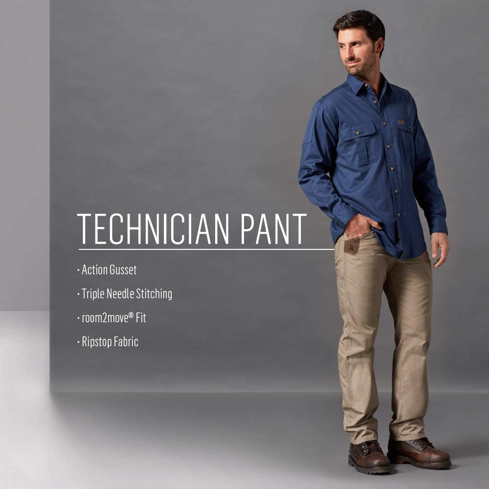 Wrangler Riggs Workwear Men's Pants Charcoal