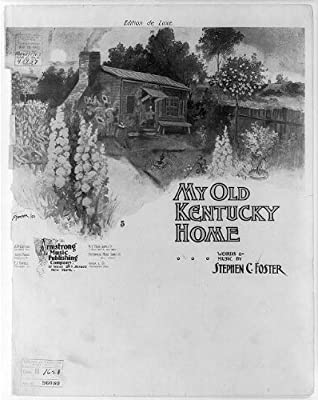Photo: 'My Old Kentucky Home',c1903,Starmer,Log Cabin