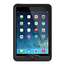 LifeProof NUUD Waterproof Case with Retina Case For iPad Mini 1 and 2 - Black (Retail Packaging)