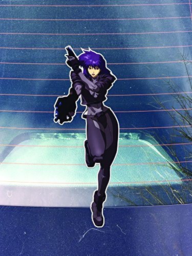 Ghost in the Shell Motoko Decals Stickers (Three Pack!) | Cars Trucks Vans Walls Laptops Cups |Printed | 3-5.5 inch Decals | KCD1046