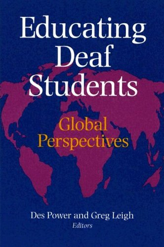 Educating Deaf Students: Global Perspectives