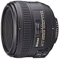 Nikon AF-S FX NIKKOR 50mm f /1.4G Lens con enfoque automático para cámaras réflex digitales Nikon