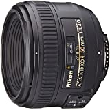 Nikon AF-S FX NIKKOR 50mm f/1.4G Lens with Auto Focus for Nikon DSLR Cameras