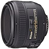 Nikon AF-S FX NIKKOR 50mm f/1.4G Lens with Auto Focus for Nikon...