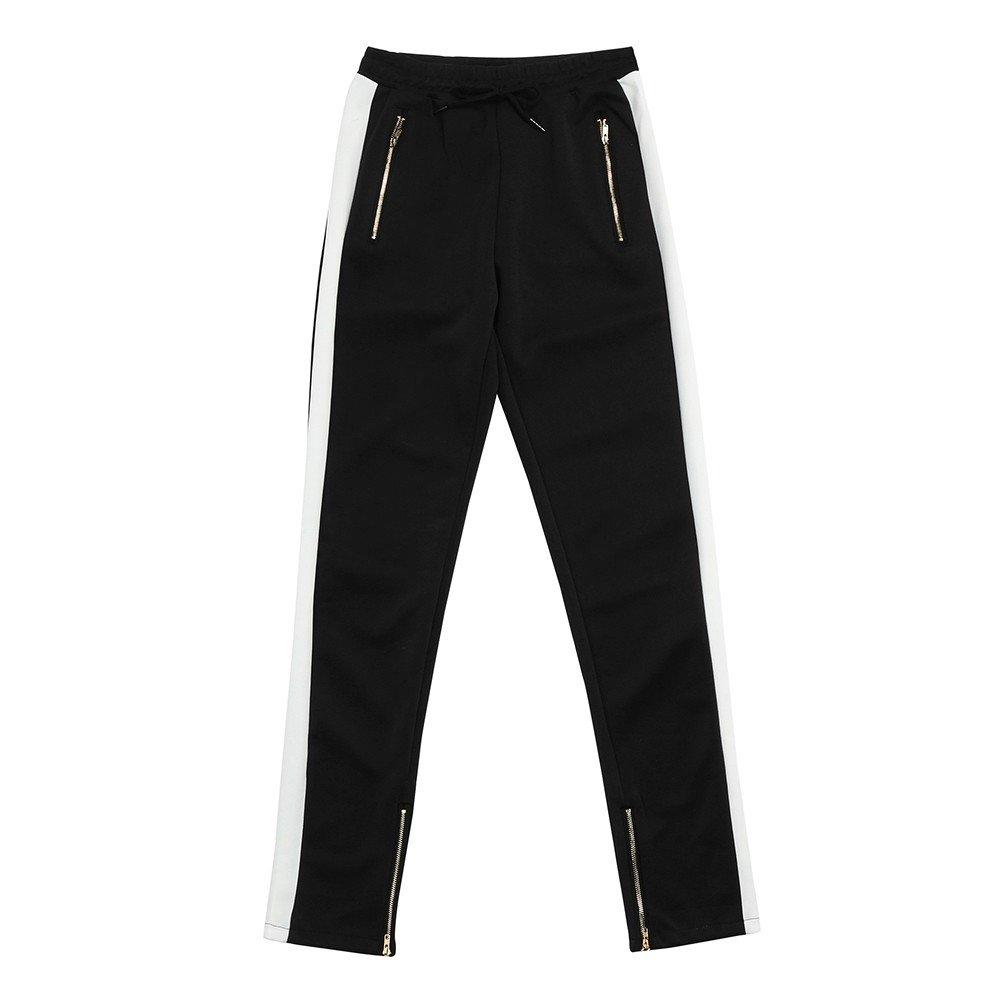 DORIC Men Harem Sweatpants Trousers Slacks Casual Jogger Sportwear Baggy Comfy Pant White