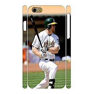 Artistical Baseball Star Player Handmade Hard Plastic Skin for Iphone 6 Case - 4.7 Inch