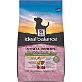 Hill's Ideal Balance Adult Small Breed Natural Chicken & Brown Rice Recipe Dry Dog Food, 15-Pound Bag