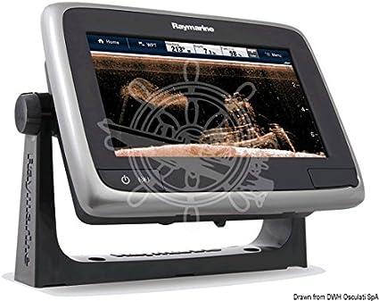 Raymarine T70203-Gd Una Serie A78 WiFi Touch Pantalla Multifunción con Síndrome De Down Visión Sonda (17.8 C: Amazon.es: Electrónica