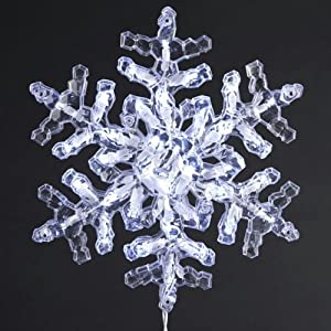 Outdoor Snowflake Lights