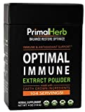Daily Immune Support for Women & Men - Optimal Immune Extract Powder - Powerful Immune and Energy Support-Chaga, Ashwagandha, Maitake Mushroom, Reishi Mushroom, Astragalus, Burdock -104 Servings