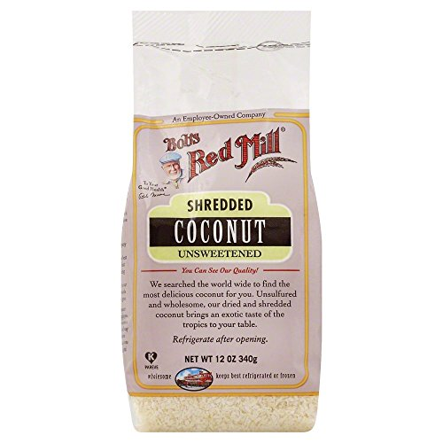 Price comparison product image Bobs Red Mill Unsweetened Shredded coconut 12.0 OZ(Pack of 3)
