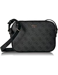 ... Women   Handbags   Wallets   Crossbody Bags   GUESS. Kamryn 4G Logo  Crossbody Top Zip ff2a859901f