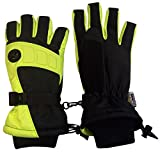 N'Ice Caps Kids Extreme Cold Weather Premier Colorblock Ski Glove with Air Hole