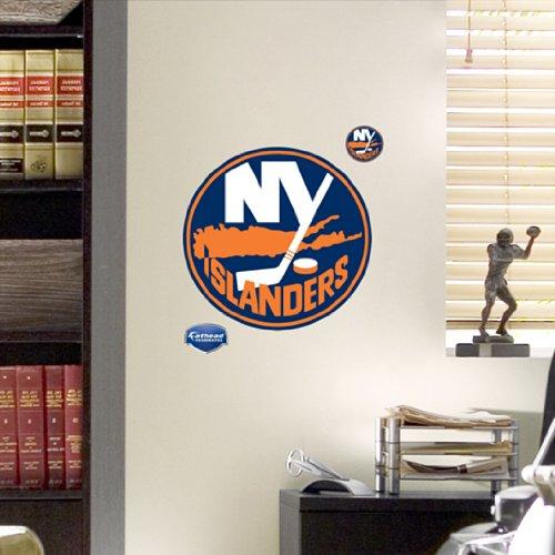 New York Islanders Wallpaper: NHL New York Islanders Fathead Logo Hardware Building