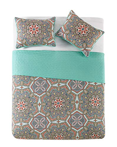 Amazon.com: VCNY Home YARA - Juego de colchas para cama de ...