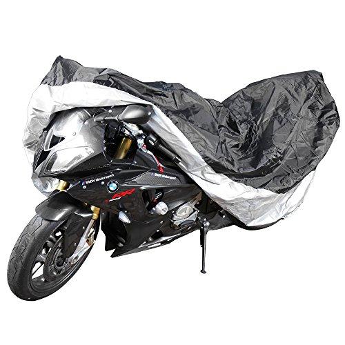 Jago Motorradplane Abdeckplane für Motorräder inkl. Aufbewahrungsbeutel, wasserdicht