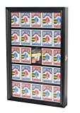 The Playing Card Frame - 25 Deck Acrylic Playing Card Display by Collectable Playing Cards by Collectable Playing Cards (Black Finish)