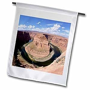 Danita Delimont - Rivers - Colorado River Oxbow - US03 BFR0071 - Bernard Friel - 18 x 27 inch Garden Flag (fl_87765_2)