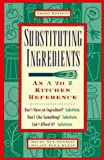 Substituting Ingredients, Becky Sue Epstein and Hilary D. Klein, 1564407411