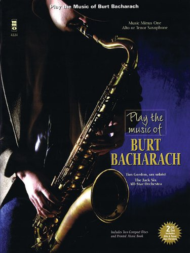 Download Play the Music of Burt Bacharach: Alto or Tenor Saxophone pdf