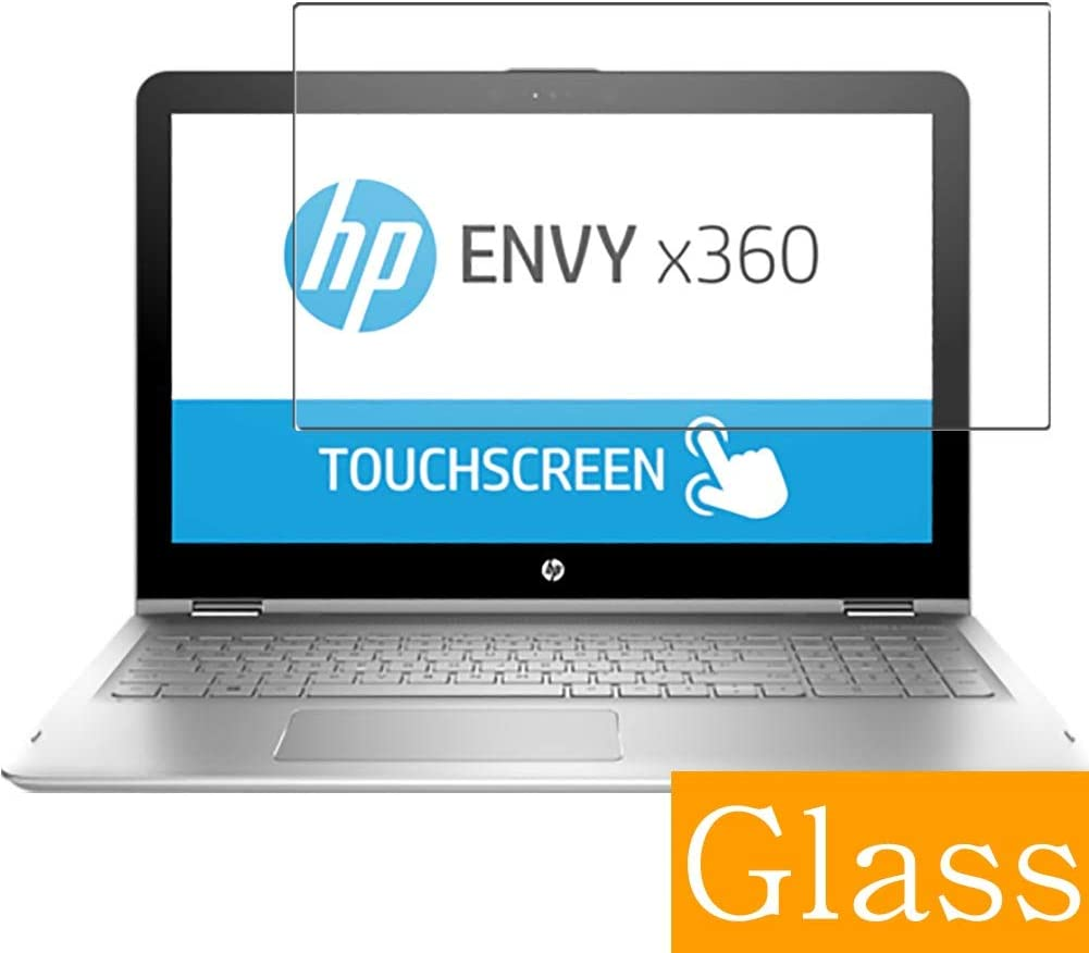"Synvy Tempered Glass Screen Protector for HP Envy x360 15-aq200 / aq293ms / aq292cl / aq273cl / aq267cl 15.6"" Visible Area Protective Screen Film Protectors"