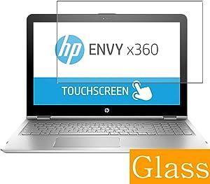 "Synvy Tempered Glass Screen Protector for HP Envy x360 15-aq200 / aq293ms / aq292cl / aq273cl / aq267cl 15.6"" Visible Area Protective Screen Film Protectors"