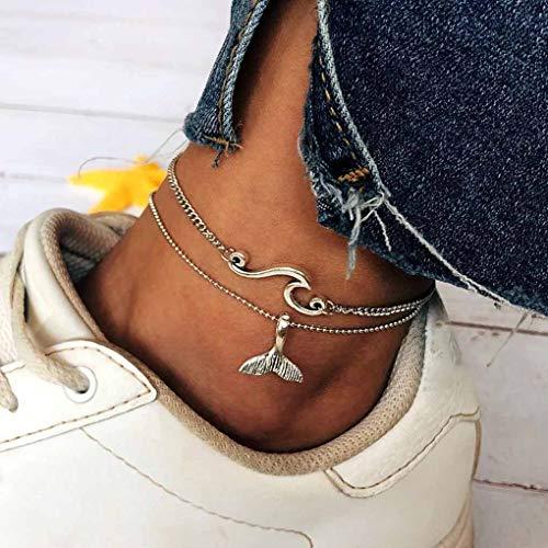 Tgirls Boho Wave Anklets...