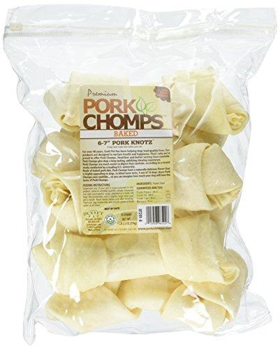 (Premium Pork Chomps Baked Knotz Pork, 6-7