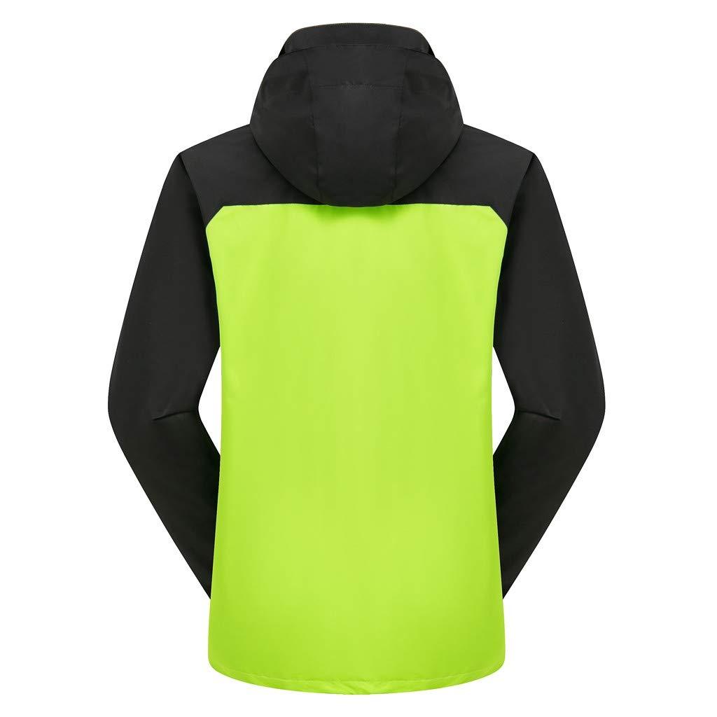 de Running Cortaviento y Transpirable LGHOVRS Jacket Chaqueta Hombre