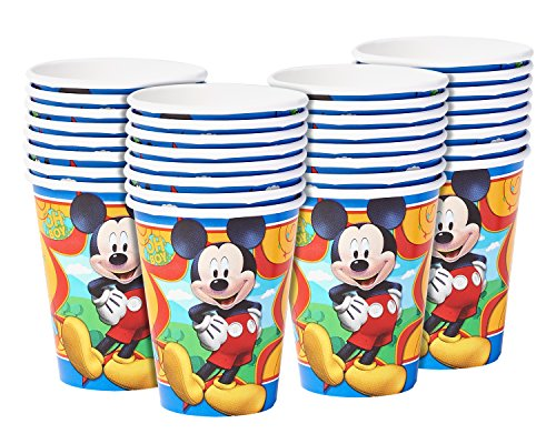 American Greetings Mickey Mouse Paper Cups (32 Count), 9 oz