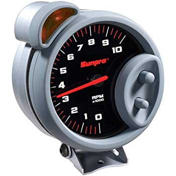 51A5N0GEZWL._SL500_AC_SS350_ amazon com sunpro cp7900 sport super tachometer black dial sunpro super tach ii wiring diagram at gsmportal.co