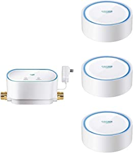 GROHE Sense Guard Smart Water Controller with 3 GROHE Sense Smart Water Sensors