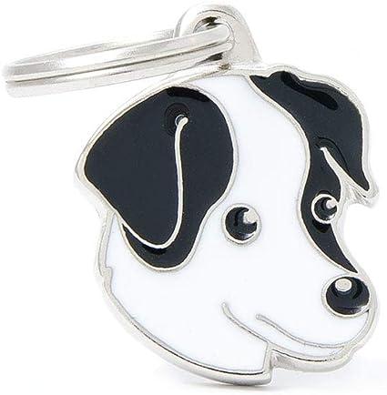 Collezione Friends My Family Schnauzer Nero Medaglietta per Cane e Gatto