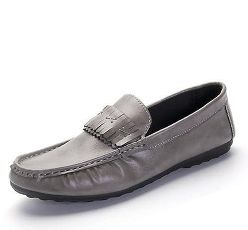 Elwow - Mocasines de Otra Piel para hombre: Amazon.es: Zapatos y complementos