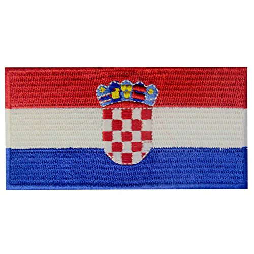 - Croatia Flag Embroidered Patch Croatian Iron On Sew On National Emblem