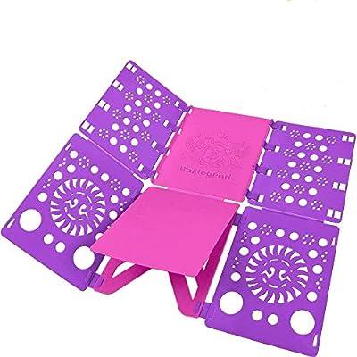 BoxLegend V2 Shirt Folding Board t Shirts Clothes Folder Durable Plastic Laundry