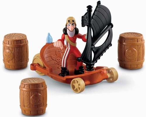 Fisher-Price Disney's Jake and The Never Land Pirates: Hook's Sailwagon (Peter Pan Jake And The Neverland Pirates)