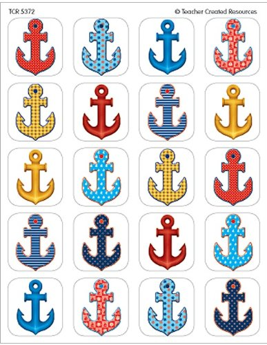 Teacher Created Resources Anchors Sticker - Anchor Stickers