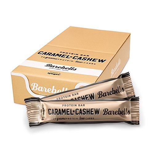 Barebells Protein Bar 55g x 12 bars (Caramel & Cashew) by Barebells Protein Bar