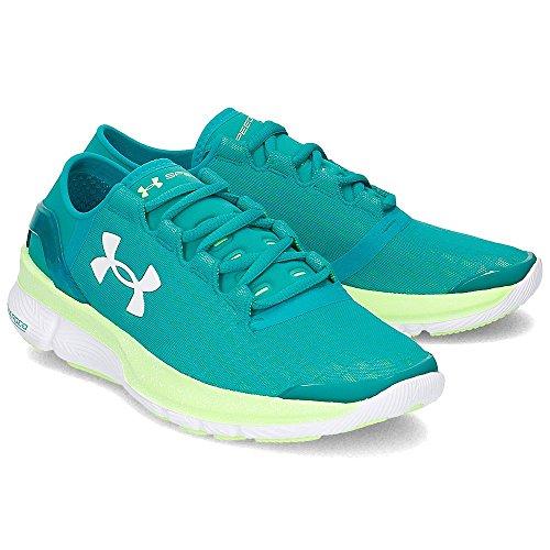 Turbulence Armour nbsp;– mujer Zapatillas de Forma para nbsp;Speed running azul Under ZIpqp