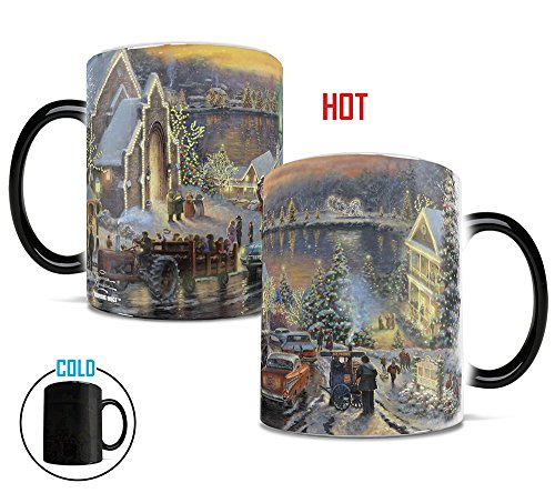 Morphing Mugs Thomas Kinkade The Lights of Chrirstmas Heat Reveal Ceramic Coffee Religion Mug - 11 -