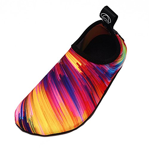 Rainbow Colorful Quick Shoes Colorful Dry Women Socks ZTL Kids Non Aqua Slip Water for dA6gASW