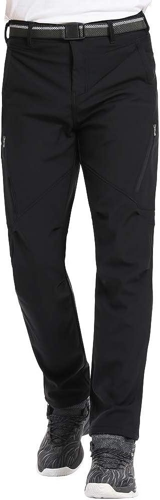 Jessie Kidden Waterproof Ski Trousers Womens Fleece Lined Winter Outdoor Soft Shell Snow Hiking Walking Fishing Insulated Pants