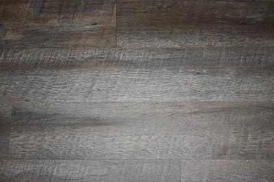 "Kryptonite Driftwood Luxury Vinyl Plank Flooring 2mm x 6"" UT039 SAMPLE"